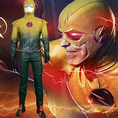 Fantasias de The Flash/Reverse Power Man Cosplay Halloween
