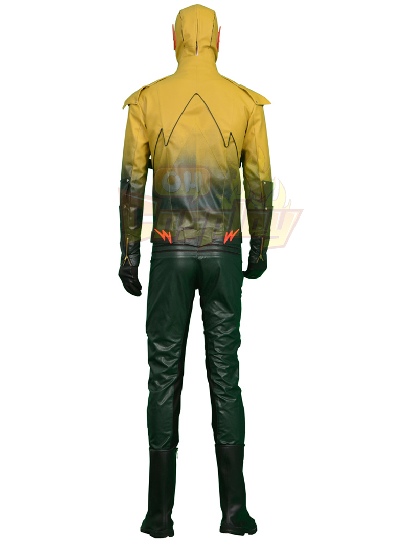 The Flash/Reverse Power Man Cosplay Halloween Kostýmy