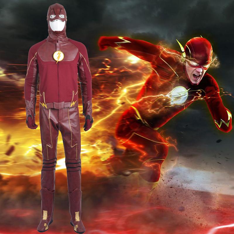 The Flash II Barry Allen Cosplay Halloween Kostuums België