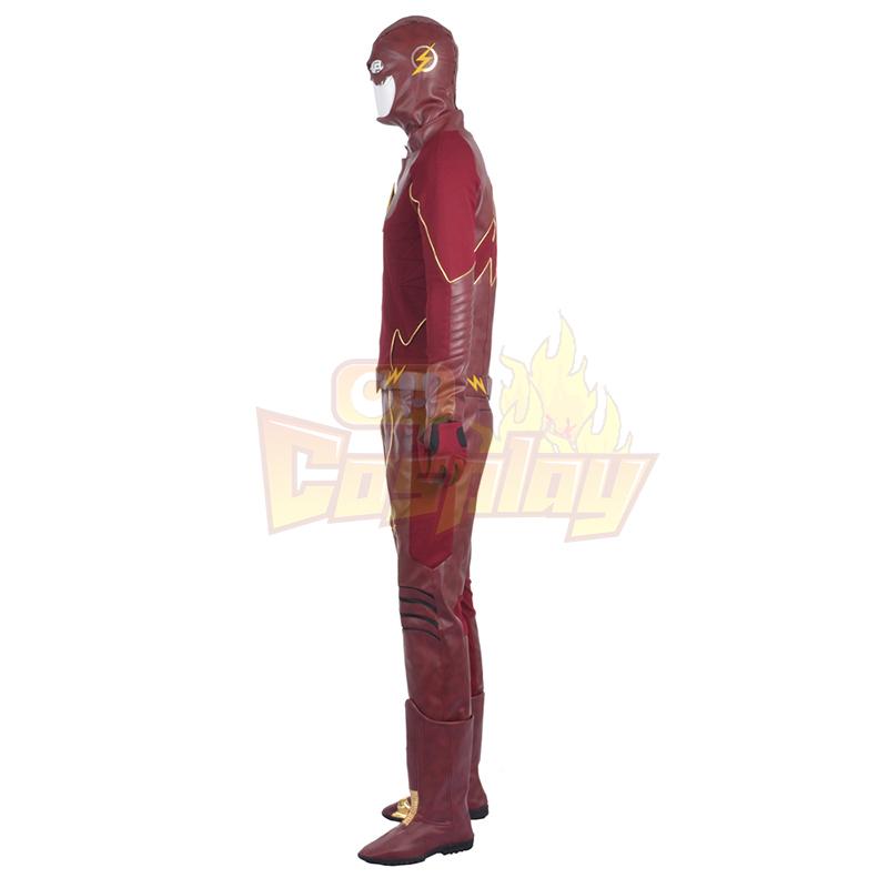 Fantasias de The Flash II Barry Allen Cosplay Halloween
