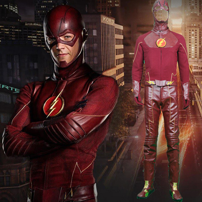 The Flash Cosplay Halloween Kostymer