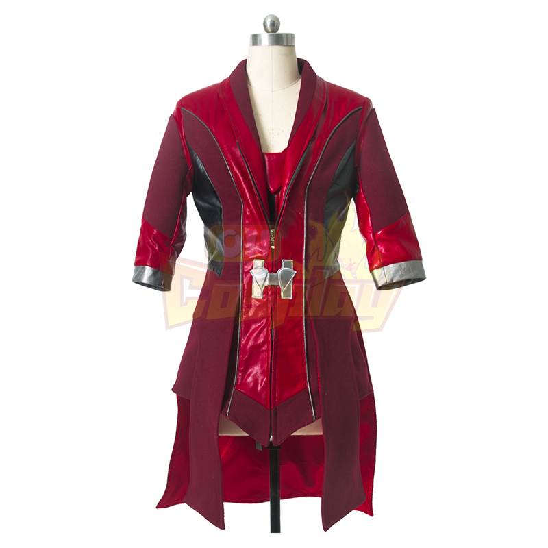 Avengers Scarlet Witch Cosplay Halloween Kostymer