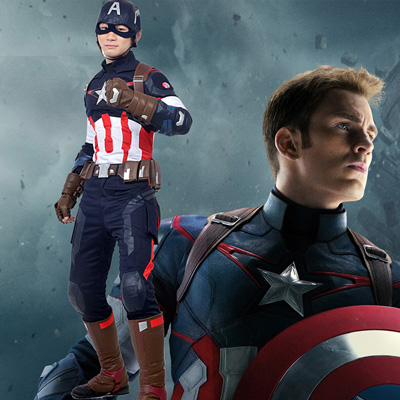 Avengers Captain America Cosplay Costumes