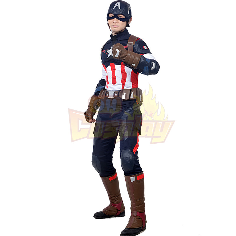 Avengers Captain America Cosplay Kostýmy