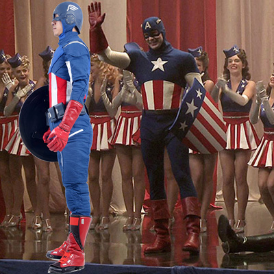 Avengers Captain America Cosplay UK Costumes Shop Online