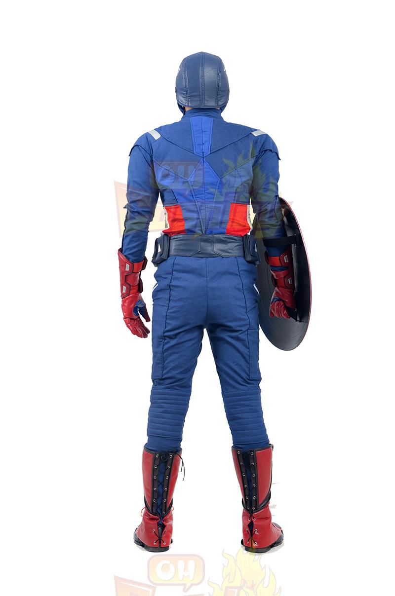 Avengers Captain America Cosplay Kostuums België Winkel Online