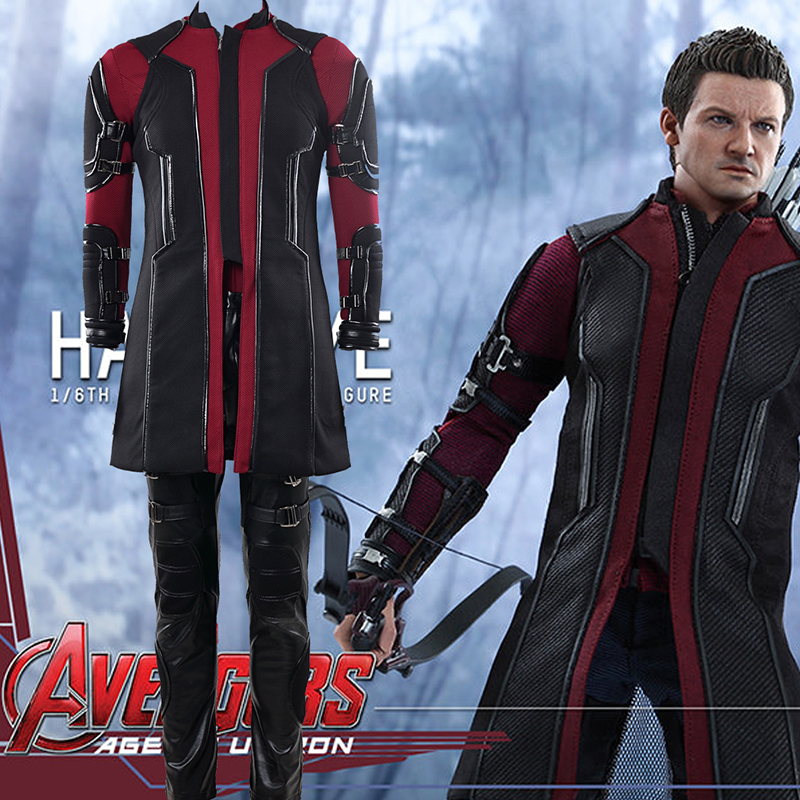 Fantasias Avengers Hawkeye Long sleeve Cosplay