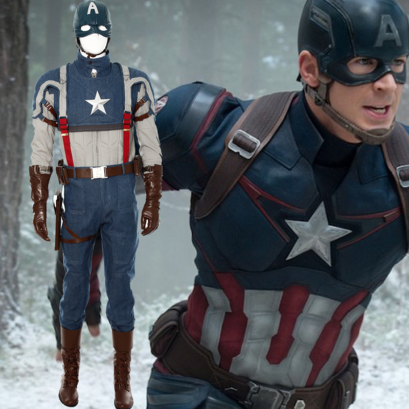 Captain America Steven Rogers Cosplay NZ Costumes