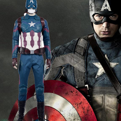 Fantasias Captain America 3 Cosplay