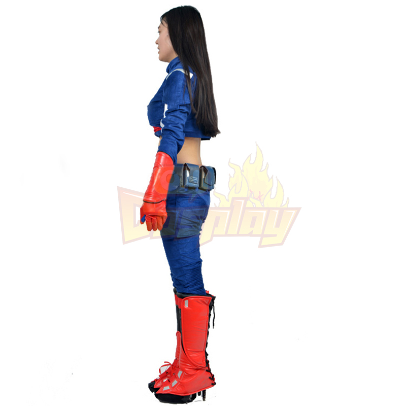 Captain America Female Cosplay Kostumer