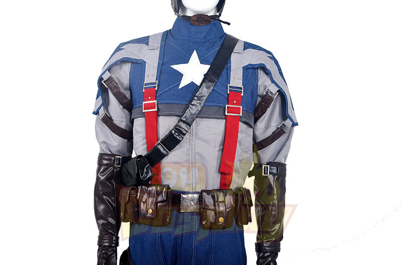Captain America American Soldiers Cosplay Κοστούμια