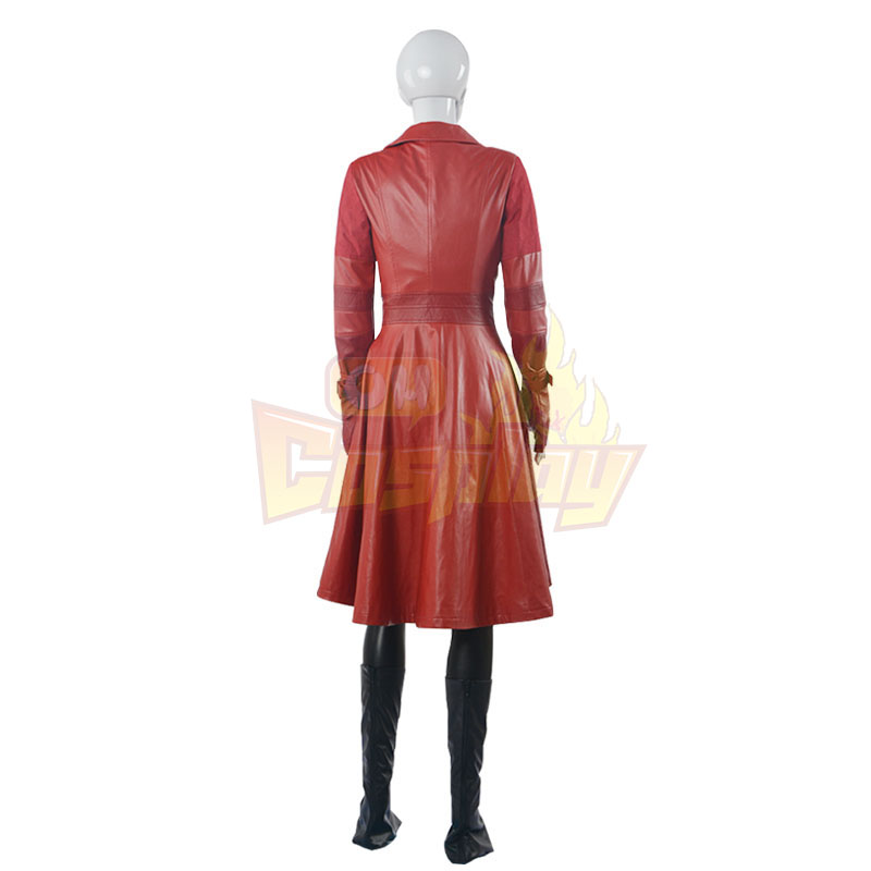 Captain America Scarlet Witch Cosplay Halloween Kostýmy