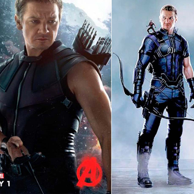 Fantasias de Captain America Hawkeye Cosplay