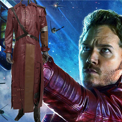 Guardians of the Galaxy Star-Lord Cosplay Kostumi
