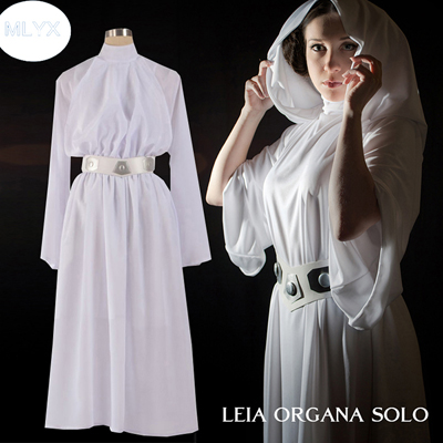 Fantasias de Star Wars Princess Leia Cosplay
