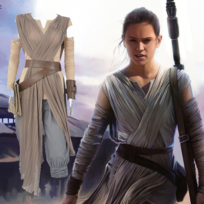 Costumes Star Wars Rey Costume Carnaval Cosplay
