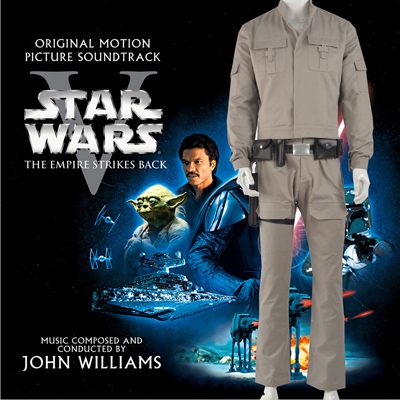 Star Wars Luke Skywalker Uniform Fighting Kostymer