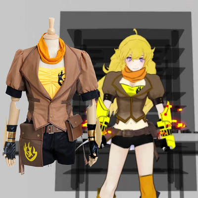 RWBY Yang Xiao Long Cosplay Costumes