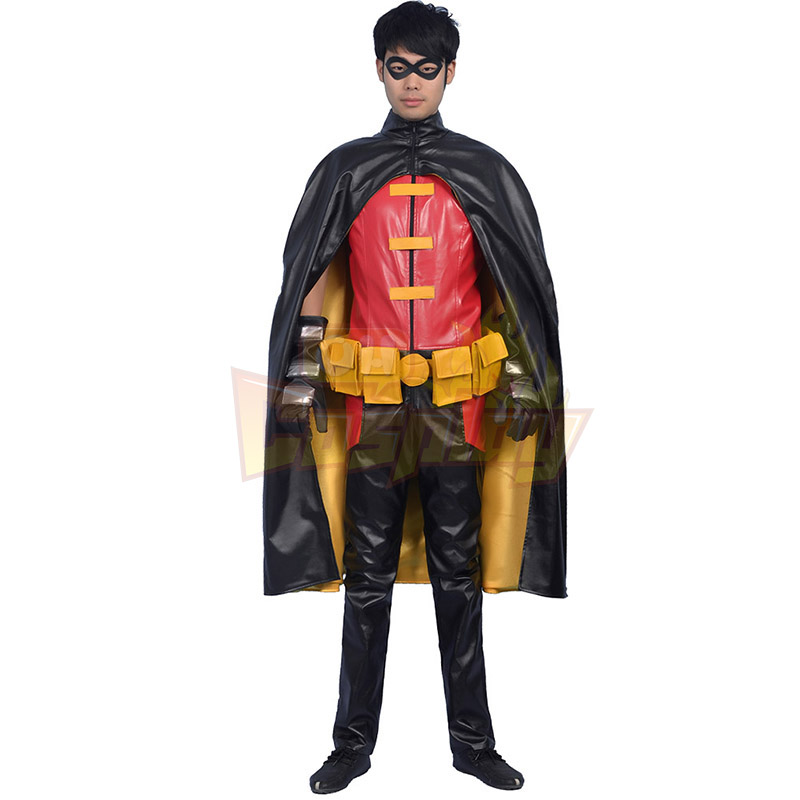 Fantasias de Young Justice Robin Adult Cosplay