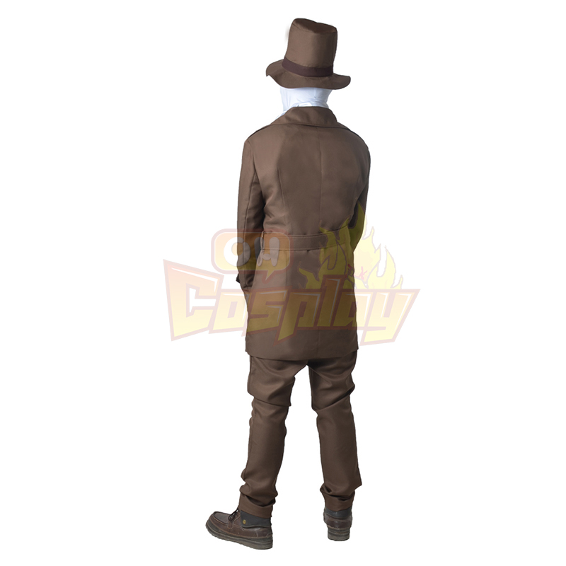 Watchmen Rorschach Brown oblek Cosplay Kostýmy