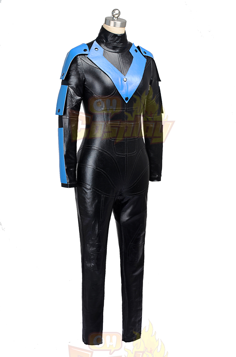 Batman Arkham City NightWing Hele Kjemmet t Female Cosplay Halloween Kostymer