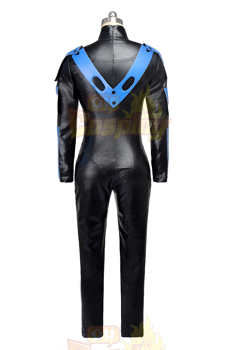 Batman: Arkham City NightWing Zentai Suit Cosplay Costume NZ