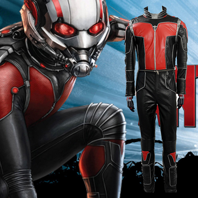 Ant-man Scott Lang Cosplay Moive Costumes Custom Made Full Set