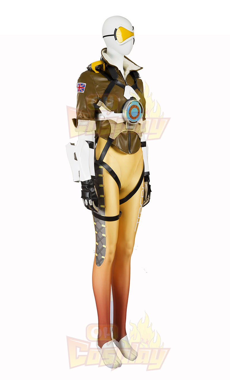 Ow Overwatch Tracer Cosplay Zentai oblek Kostýmy