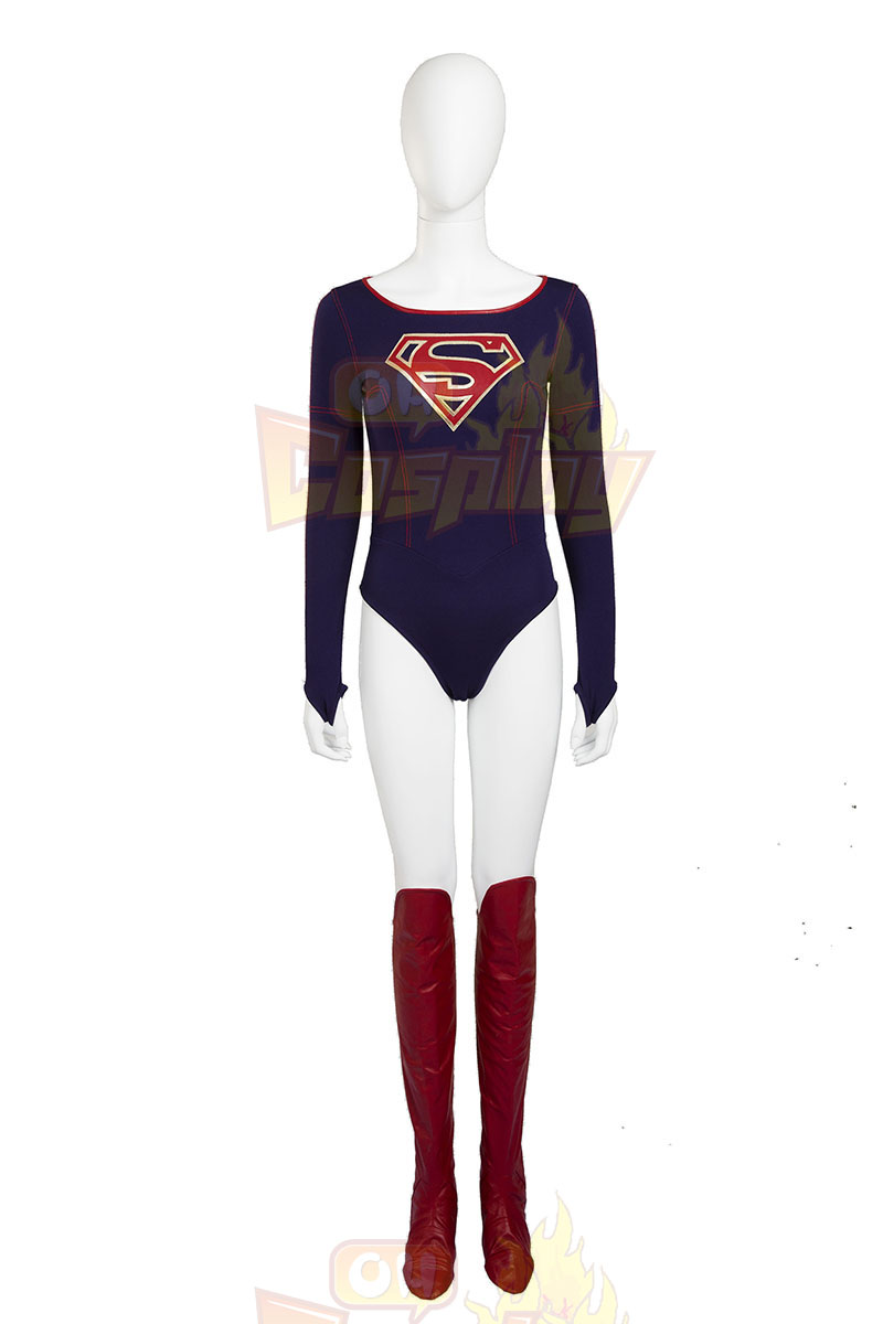 Supergirl Kara Zor-el Danvers Cosplay Zentai oblek Kostýmy