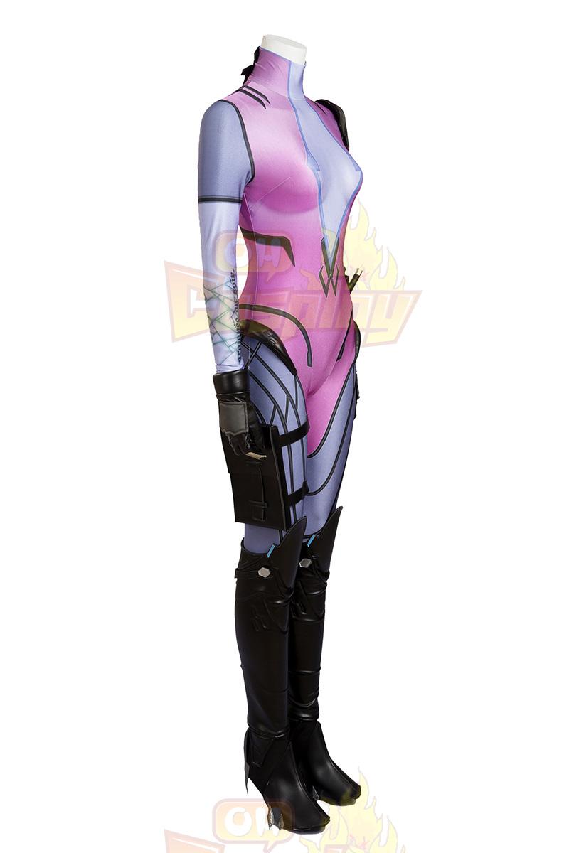 Ow Overwatch Emily Widowmaker Cosplay Zentai κοστούμι Κοστούμια Πλήρες σετ