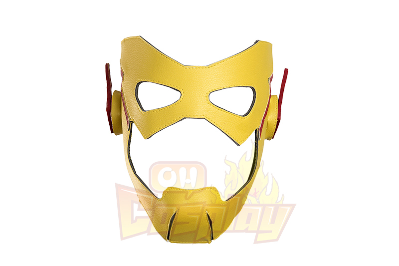 Flash New Man Yellow Cosplay Hele Kjemmet t Kostymer Halloween Kostymer