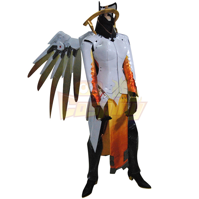 Deluxe Overwatch Ow Mercy Cosplay Game Costumes Full Set