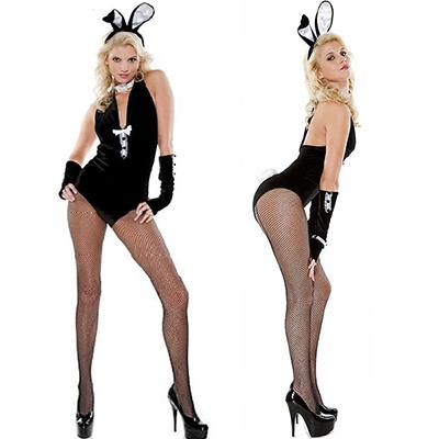 Kvinnor Vuxen Sexig Smoking Kanin Kostymer/Dräkter Cosplay Halloween