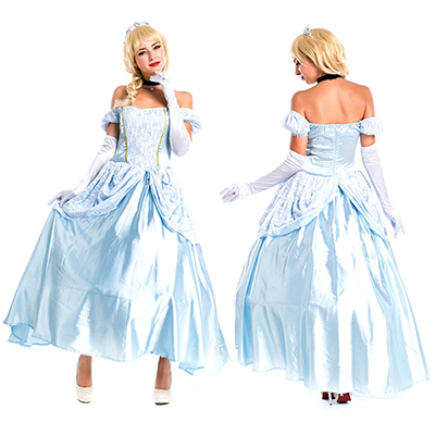 Lake Blue Movie Sexy Cinderella Princess Adult Cosplay Party Women Fancy Dress Halloween Masquerade Costume
