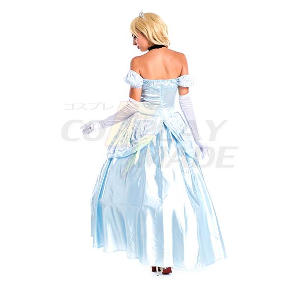 Lake Blue Movie Sexy Cinderella Princess Adult Cosplay Party Women Fancy Dress Halloween Masquerade Costume