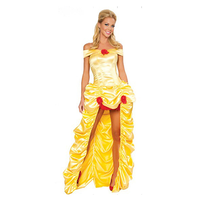 Adult Sexy Deluxe Fairytale Princess Costume Cosplay Clothing