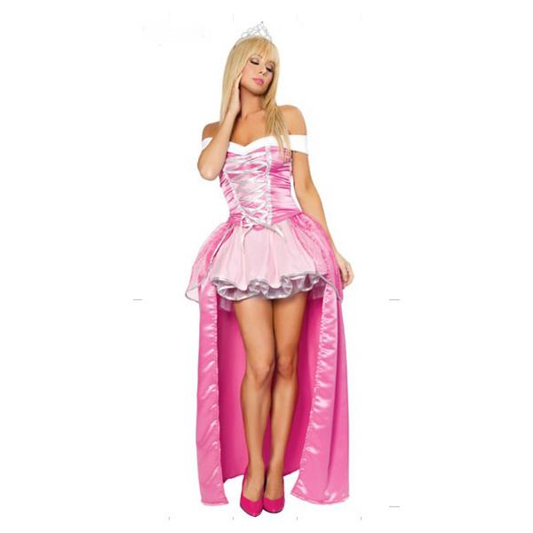 Königin Kleidung Prinzessin Kleider Märchen Zeichen Kleidung Halloween Kostüme Dornröschen Cosplay Kostüme