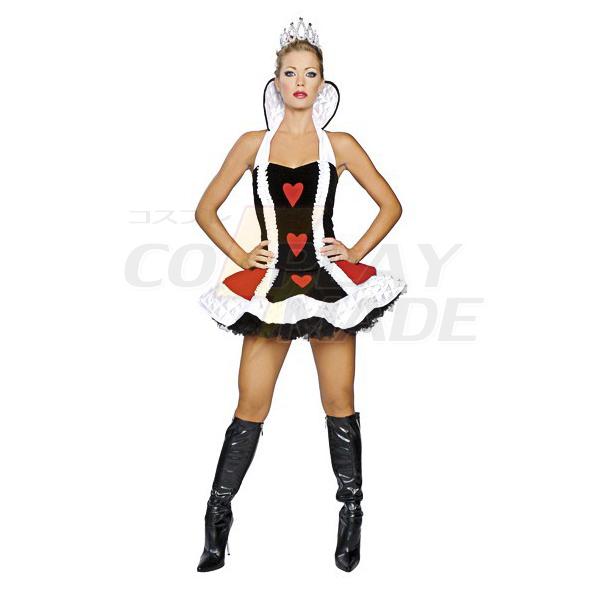 Entzückende Herzkönigin Kostüme Cosplay Kostüme Kleidung