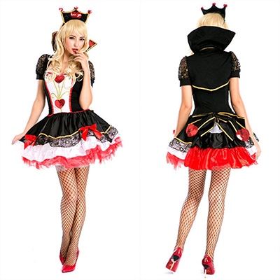 Mode Adultee Femmes Reine Conception Cosplay Halloween Costume Carnaval