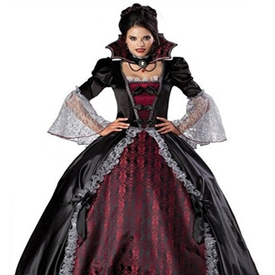 Vampire Costume Victorian Masquerade Fancy Dress Cosplay
