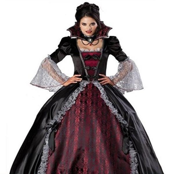 Vampir Kostüme Viktorianische Maskerade Fancy Kleider Cosplay Kostüme