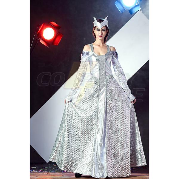 Beliebt Silber ägyptische Göttin Kostüme Cosplay Kostüme