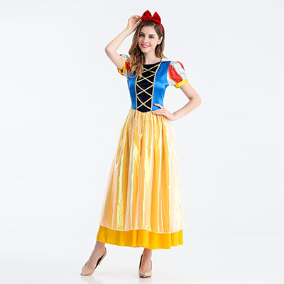 Princesse Blanche-Neige Conte de Fées Robes Cosplay Costume