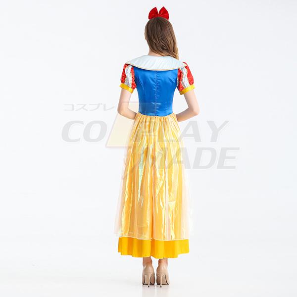 Sexy Princess Snow White Fairy Tail Dress Cosplay Costume