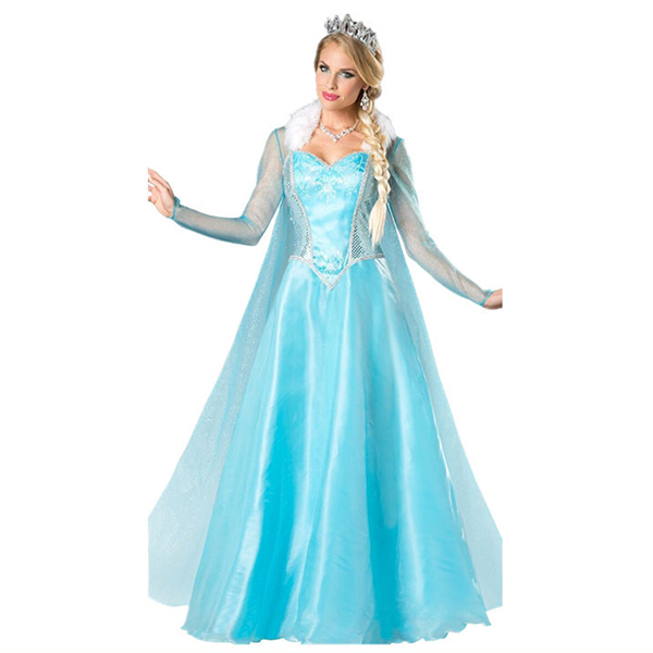 Cinderella Ball Gown Princess Adult Cosplay Costume