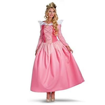 Popular Sleeping Beauty Womens Aurora Cosplay Costume