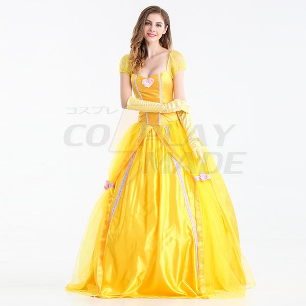 Erwachsenen Belle Beauty Beast Halloween Faschingskostüme Cosplay Kostüme