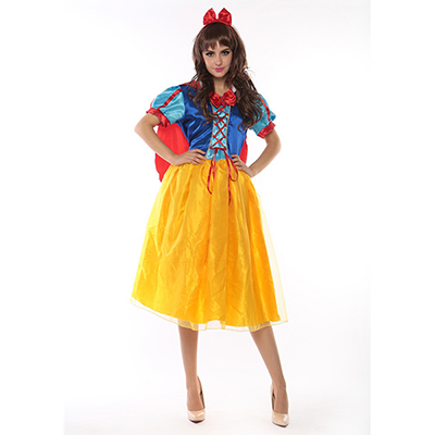 Adulto Sexy Princesa Vestidos Cartoon Film Cosplay Disfraz para Halloween