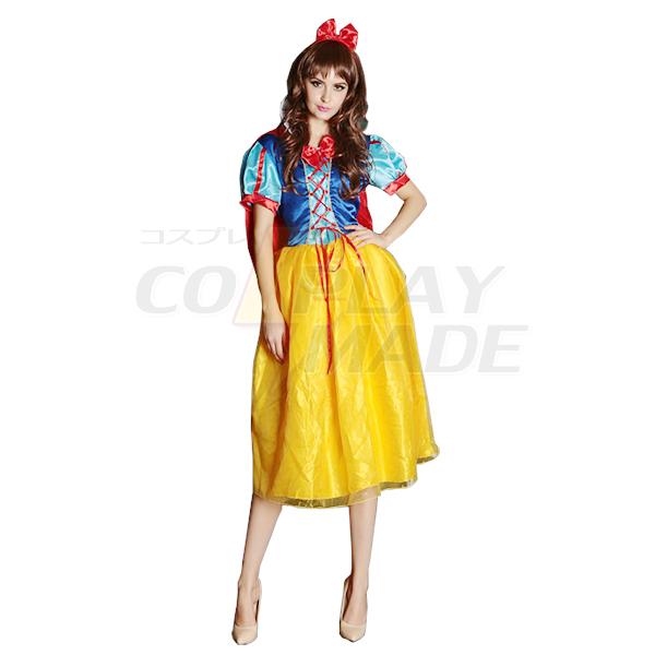 Adult Sexy Princess Dress Cartoon Movie Cosplay Costume for Halloween