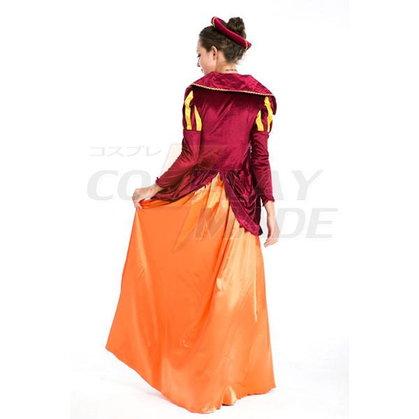 Deluxe Damen Mittelalterlich Renaissance Kostüme Cosplay Kostüme